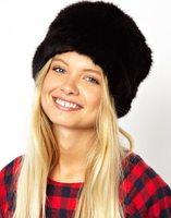 2014 winter cap Set of head imitation fur hat  for fashion women