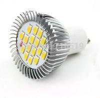 2014 NEW led bulbs GU10 6W warm white & white 110v 220v AC85-265V  500PCS