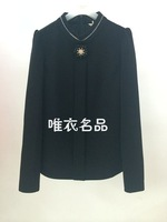 2014 stand collar shirt basic shirt