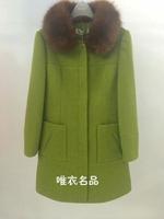 2014 woolen slim fashion outerwear