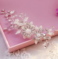The bride handmade hair accessory marriage accessories wedding accessories swithin wedding