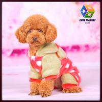 CUBE MARKET PET SHOP Puppy Pet Dog bear design Soft Warm jacket dog Pajamas Coat pet bear style Clothes Free Shipping