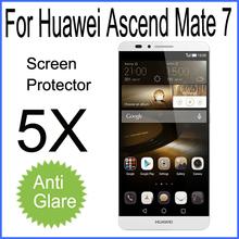 5x Original Huawei Ascend Mate 7 Premium Matte Anti-glare Screen Protector for huawei mate7 mate 7 protective film