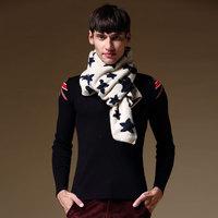 2014 winter scarf male lovers design scarf all-match male scarf muffler scarf