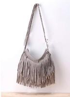 2014 Hot Sale Fashion Shoulder Bag Vintage Popular stylish tassel cross body women messenger bags