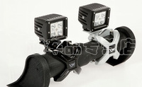 Exclusive sales 2pcs CREE 16W Led Working light + 2pcs Bumper Mounting brackets Clamp Offroad truck ATV SUV For JEEP Wrangler JK