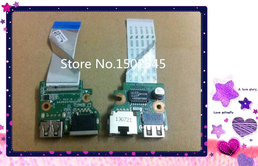 Free shipping original laptop USB board network interface for HP Pavilion 15-E Series Pavilion 15-e029tx...(China (Mainland))