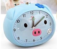 Student child alarm clock voice cartoon mute dawdler pig alarum