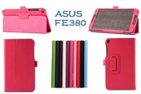 For Asus FonePad 8 FE380 FE380CG tablet Luxury super stand smart PU leather Case Cover for asus fonepad 8 tablet