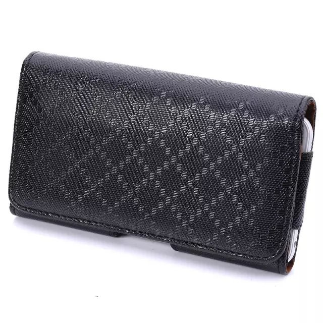 New Rich Size Smooth Pattern Grid lines PU Leather Phone Belt Clip Bags For BLU Amour/life pule/life pule mini Free Shipping(China (Mainland))