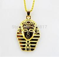 Hot sale Fashion Medusa Gold Plated Sweater Chain Famous Pendant Statement Necklace Chain Necklaces & Pendants unisex