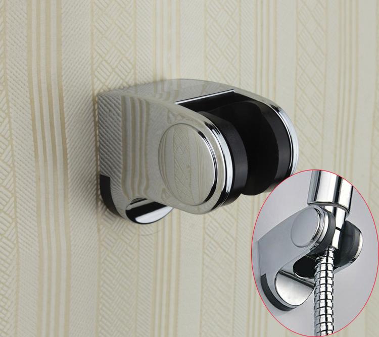 Chrome Plated ABS Wall Hand Shower Holder bracket Bathroom Accessories handheld shower holder bracket Free Shipping(China (Mainland))