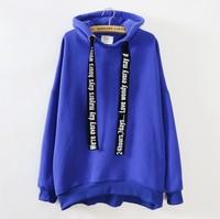[Magic] Women's new cotton hoodies with hoody high quality Loose sweatshirts front short back longer casual sweatshirt 1175 free