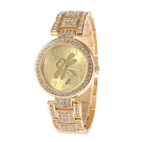 Sales!Rhinestone Watches, Stainless Steel Watches,SHI KAI 2277 Promotion All Steel Quartz Watch Sports Fashion Decoration