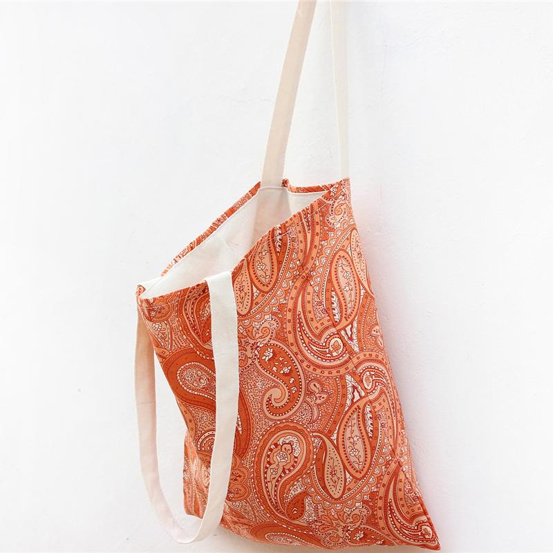 Half- month series of original pattern cloth bag casual shoulder bag schoolbag bag shopping bags woman(China (Mainland))