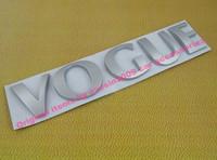 Auto car silver Vogue for Range Rover Sport Emblem Badge Sticker