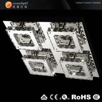 2014 New Modern K9 Crystal Chandelier Crystal Lamp 100% Guanrantee OM88169-4