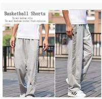 2014 Jordan cotton pants men Basketball pants Jogging pants Shut sweatpants Spring and autumn