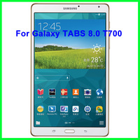 New 2014 5pcs original for Samsung Galaxy TABS 8.0 T700 241*171.5mm clear screen protector 8.4 protective film for tablets