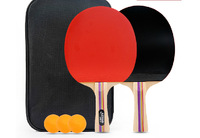 Original double happiness table tennis racket one pair two pieces rackets finished product with rubbers ping pong bat