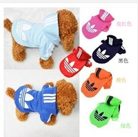 Cheapest New Brand Cotton Fashionable Pet Dog Clothes, Winter Hooded Coat For Dogs , Pet Clothing Dog sweater costumes