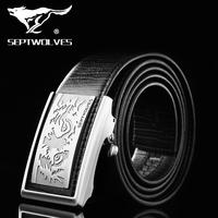 Septwolves leather belts leather belt men Korean business automatic buckle belt 7A1106800