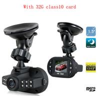 Loop Recording 1920*1080P MINI Car DVR Video DVR Recorder Camera Full HD Car DVRs G-sensor Novatak 12 IR LEDs Video Registrator