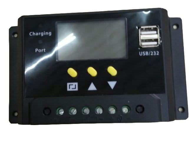 Солнечный контроллер HK 20A 12 24V 360W 720W USB LOSO2420 солнечный контроллер geree cmg 2420 12v 24v 1pcs lot mp003