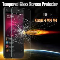 Ultra thin anti-Burst Tempered Glass Screen Protector/Film For Xiaomi 4 M4 Mi4 Mi 4 Xiaomi4 Luxury Mobile Phone