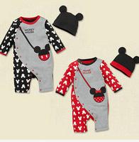 Free Shipping baby rompers boy girl autumn cartoon full sleeve romper bebe baby clothing sets roupas de bebe menina