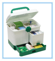 Free shipping High quality first aid kit,plastic box, multifunction medicine box,Multilayer medicine boxes, storage boxes