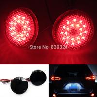 2X21SMD LED Rear Bumper Reflector Light Set for Scion xB iQ Toyota Sienna Corolla