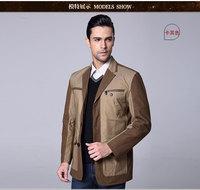 Long-sleeved wool coat winter 2014 new Korean fashion Slim wool coat Korean casual wear business men wool coat