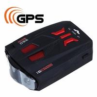 2 in1 Russia Radar detector with GPS+Russia Radar Data Digital Alarm Control Car Detector Russian Voice Free Shipping