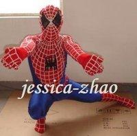 spiderman Mascot Costume Christmas Adult Cartoon Halloween Fancy sexy Dress kids party cosplay
