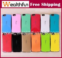 free DHL shipping for iphone 6 cover factory price two tone combo design multi-colors fast delivery 100pcs/lot