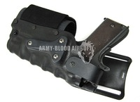 Safariland 3280 Tactical DropLeg Holster Left / Right Holster for M9/M1911/Hi-Capa Airsoft with flashlight