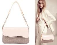 New Fashion Clutch Evening Bags Genuine Leather Handbags Women handbag serpentine Purse Casual small Shoulder Bag Chains bolsos