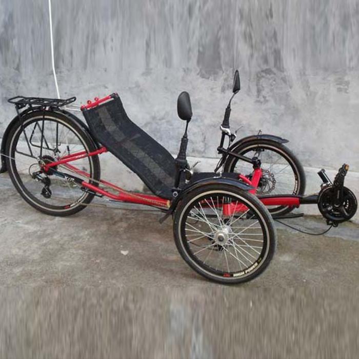 Recumbent Bicycles Exercise Trike Tricycle 3Wheels Bike Ligfiets Bicicletas Reclinadas Trike Liegerad Folding Fahrrad Sports New(China (Mainland))