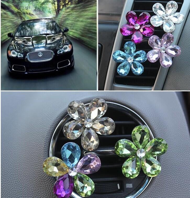 Online kopen wholesale bloem auto luchtverfrisser uit for Interieur accessoires groothandel