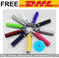 DHL EVOD Rechargeable E Cigarette Electronic Cigarettes Grade A-Level Battery for MT3 BCC CE4 CE5 H2 Mini Protank 3 2 1 Atomizer