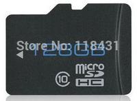 100pcs DHL   real capacity high speed micro sd 128gb class 10 memory card flash tf card +sd transfer adapter+ 1pcs card reader