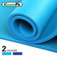 Yoga mat slip-resistant 15mm thickening yoga mat fitness mat situational pad sports mat