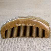 Antistatic Natural wood comb green sandalwood comb big comb hair comb anti-static