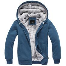 2015 new mens jackets and coats winter casual men hoodies sweatshirt hooded jackets coat man warm plus thick fleece hoodies men(China (Mainland))