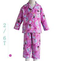 Kids clothes girls winter 2014 Children's Pajamas Pink Frozen ELSA & ANNA Pijama infantil Girls pjs clothing set Sleepwear