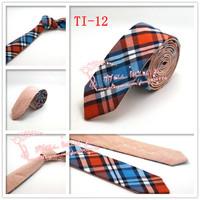 Cheap Free shipping,1pcs/lot,2015 Brand New,Men Diomand Check corbatas necktie,Mens double wear gravata Skinny Neck Ties,TI12