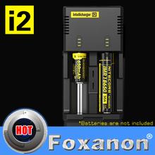 100% Original Nitecore i2 Intellicharge Universal Battery Charger Intelligent charging  PowerIQ design for 18650 14500 AA AAA(China (Mainland))