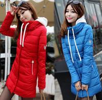 2014 winter wadded jacket female fashion slim cotton-padded jacket female medium-long down cotton-padded jacket outerwear female