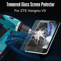 Ultra thin anti-Burst Tempered Glass Screen Protector/Film For ZTE U9180 Red Bull Hongniu V5 Luxury Mobile Phone